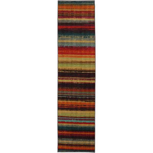 Mohawk Home New Wave Boho Stripe Area Rug